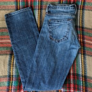 James Jeans Dry Aged Denim Distressed Jeans